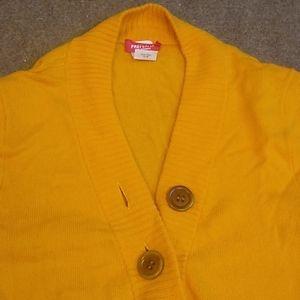 J. Crew Cashmere Heirloom Henley Shawl Sweater